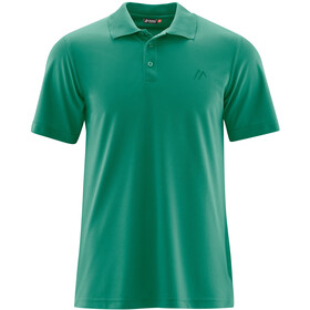 Maier Sports Ulrich Polo Hombre, ultramarine green